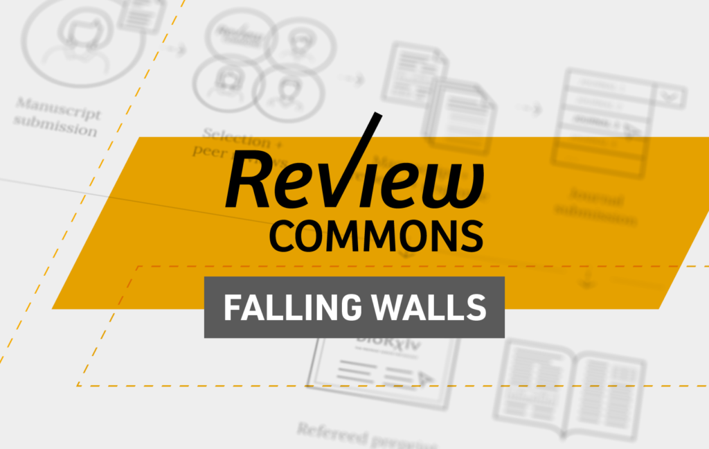 Review Commons shortlisted for Falling Walls 2021
